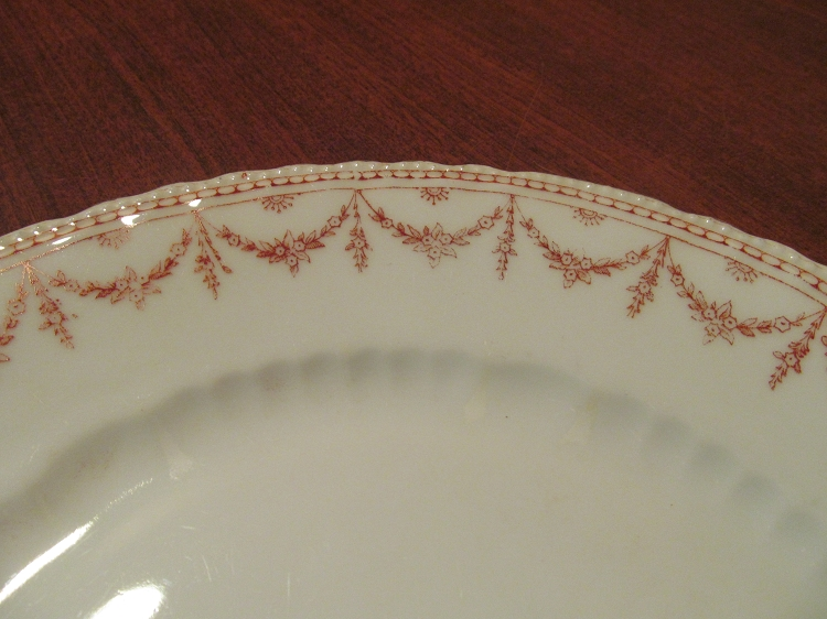 & Victoria China Dinner Plate