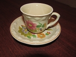 William Adams & Sons Titan Ware Demitasse Cup & Saucer - Pattern 2092