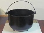 Cast Iron Footed Handled Pot #9