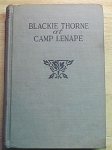 Blackie Thorne at Camp Lenape by Carl Saxon - 1940