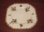 Sampson Bridgwood & Son Square Dinner Plate