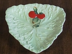 Wiltshaw & Robinson Ltd Carlton Ware Fruit Embossed Salad Ware Leaf Dish Australian Design