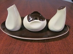 Wiltshaw & Robinson Ltd Carlton Ware 3 pc Condiment Set Australian Design