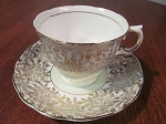 Colclough China Longton Teacup & Saucer