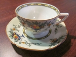 A.G. Richardson & Co Crown Ducal Regent Shape Teacup & Saucer - Pattern A1476
