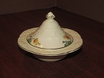 A.G. Richardson & Co Crown Ducal Florentine Shape Covered Butter Dish