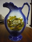 Currier & Ives Large Pitcher