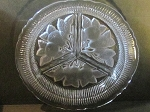 Imperial Glass Co 3-Part Round Relish Dish