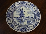 Delfts Blue Collector Wall Plate