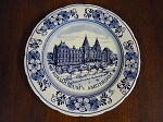 Delft Blue Handpainted Wall Plate