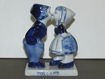 Delft Blue Pottery Figurine