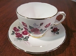 J.H. Middleton & Co Delphine China Teacup & Saucer
