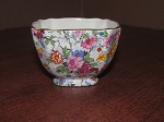 Elijah Cotton Ltd Lord Nelson Ware Chintz Open Sugar Bowl