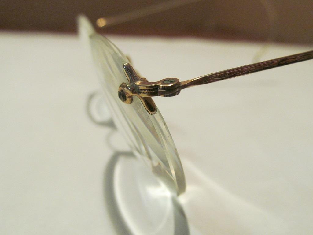 233797aff58e Perfex Gold Wire Rim Eyeglasses