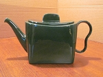 Franciscan Tiempo Olive Green Teapot