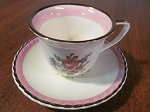 A.E. Gray & Co Gray's Pottery Demitasse Cup & Saucer
