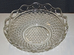 Imperial Glass Crystal Crocheted/Laced Edge Bowl - Belmont Pattern