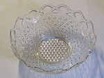 Imperial Glass Crystal Crocheted/Laced Edge 8 3/4