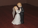Lefton China Wedding Cake Figurine