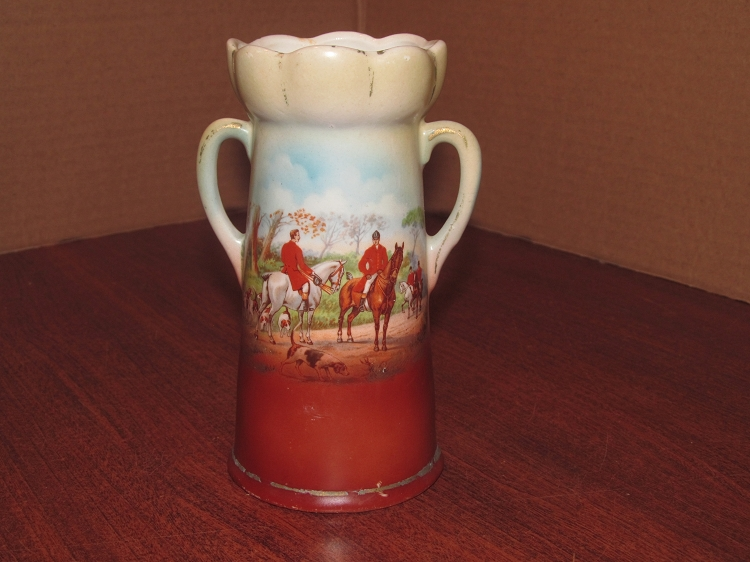 Made In Czechoslovakia Vase The Hunt