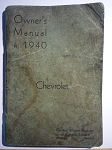Chevrolet Owners Manual - 1940 - General Motors Products of Canada, Ltd