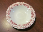 D.E. McNicol Pottery Co Rimmed Coupe/Cereal Bowl