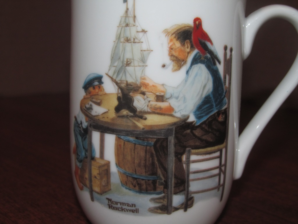 0c9ee413e9d Made In Japan Norman Rockwell Museum Mug