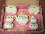 Occupied Japan Lusterware Toy Tea Set