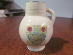 Robinson & Leadbeater Ltd Royal Ivory Miniature Vase