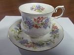 Rosina China Co Ltd Queens Teacup & Saucer