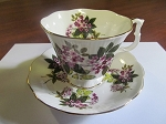 Thomas C. Wild & Sons Royal Albert Teacup & Saucer Un-Named Set #872 - Gainsborough Shape