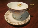 Royal Crown Derby Porcelain Co Teacup & Saucer