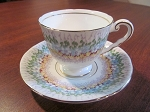 Thomas Poole & Gladstone China Royal Stafford Teacup & Saucer