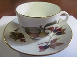 Royal Worcester Teacup & Saucer