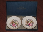 Royal Worcester Ashtray/Coaster Set