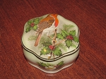 Royal Worcester Palissy Royale Collection Ring Box