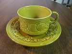 Royal Worcester Crown Ware Teacup & Saucer