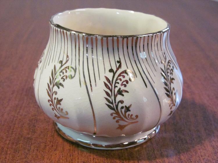 James Sadler Sons Ltd Creamer Sugar Bowl Pattern 2793 England