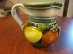Tesori di Siena Hand Painted Pitcher - Made In Italy