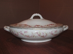 Adolf Persch Porcelain Oval Covered Serving Dish