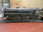 Marx HO Scale Pre-War #999 2-4-2 Steam Engine Train Set
