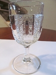 US Glass Co Pressed Glass Goblet