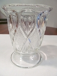 US Glass Co Pressed Glass Sugar Bowl