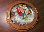 W.L. George Collector Plate Flowers Of Your Garden Series