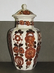 Wloclawek Porcelain Lidded Storage Jar - Made In Poland