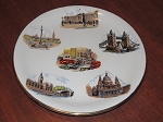 Wood & Sons Ltd Alpine White Ironstone Plate