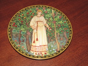 "Royal Worcester Orchard Collection Plate ""Summer"" - 1996"