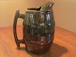 Beauce Pottery Beauceware Tankard Pitcher #1678