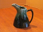 Blue Mountain Pottery Green 8 oz Pitcher