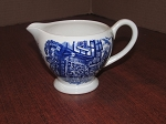 English Ironstone Pottery Ltd Blue 12 oz Creamer
